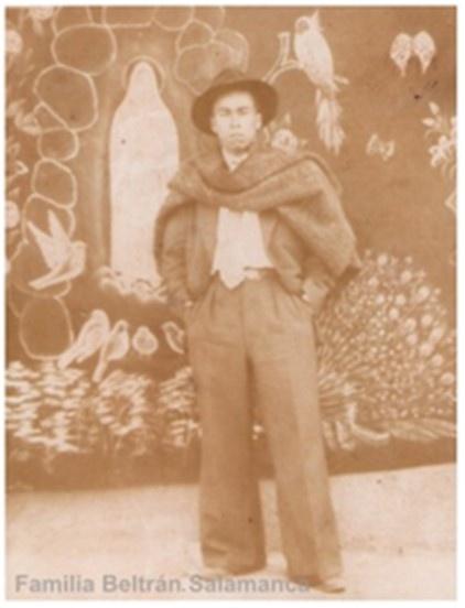 fotografía del señor Víctor Beltrán Simvaqueva