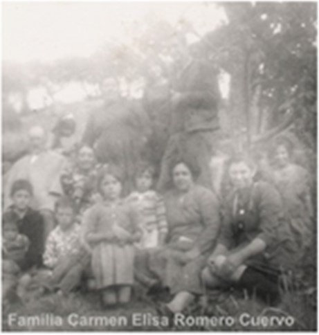 Fotografía del Señor Constancio Cuervo Y Familia, Bodas De Oro De Los Abuelos