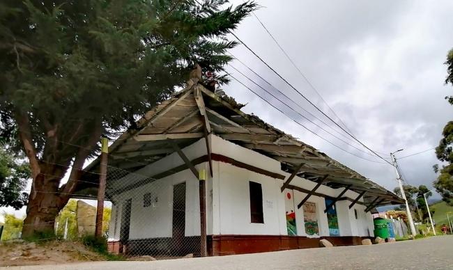 Estación la Requilina y Olarte