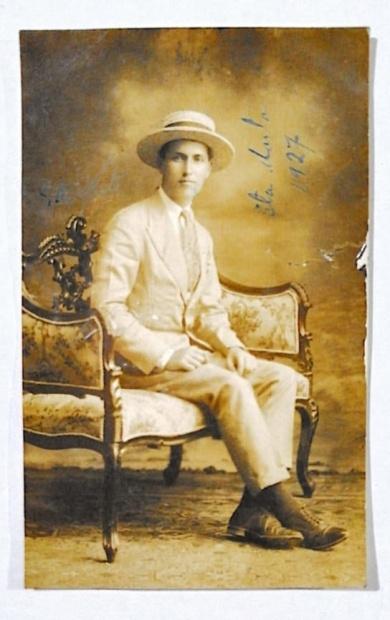 Fotografía del primer profesor de Usme