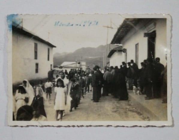 Fotografía entrada del pueblo